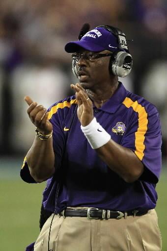 East Carolina coach Ruffin McNeill
