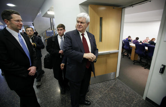 Former House Speaker Newt Gingrich has praised Donald Trump's candidacy throughout the primaries.
