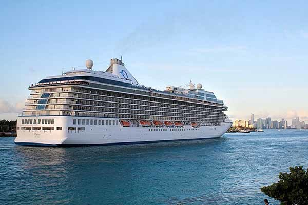 Pictures: New and soon-to-arrive cruise ships - Oceania Marina arrives in Miami