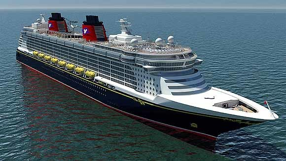 Pictures: New and soon-to-arrive cruise ships - Renderings of the Disney Dream cruise ship