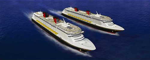 Pictures: New and soon-to-arrive cruise ships - Disney Dream and Fantasy cruise ships