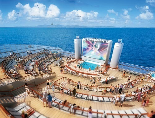 Pictures: New and soon-to-arrive cruise ships - Pictures of the Norwegian Epic cruise ship