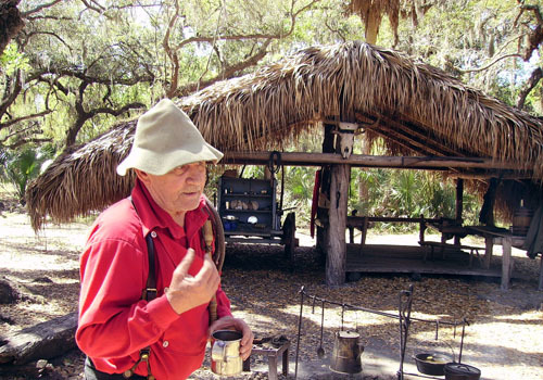 Florida Getaways of the Day - <b>Lake Wales:</b> Cracker heritage comes alive at living cow camp