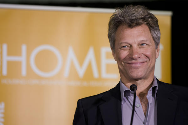 Celebrity death hoaxes: According to a false news report, Jon Bon Jovi was found dead in New Jersey during a 2011 world tour. Bon Jovi confirmed that he was still kicking via Twitter, where he posted a photo of himself holding a sign with the date and a message: Heaven looks a lot like New Jersey.