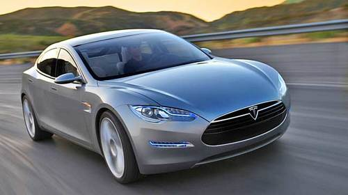 Tesla says it will have a four-door sedan capable of going 300 miles per charge. No pricing information is available.