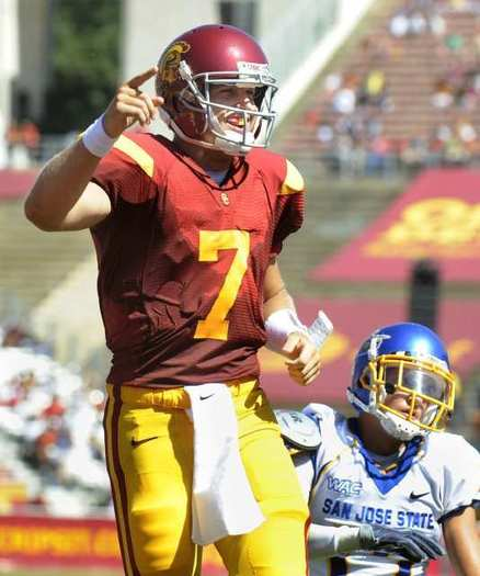 USC's Matt Barkley of Newport Beach is returning for his senior season.