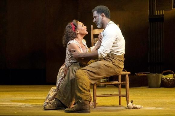 "Audra McDonald and Norm Lewis in ""Porgy and Bess"" on Broadway."