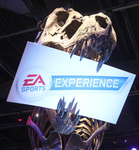 EA Sports is an exhibitor at Otronicon at the Orlando Science Center on Friday, January 13, 2012.