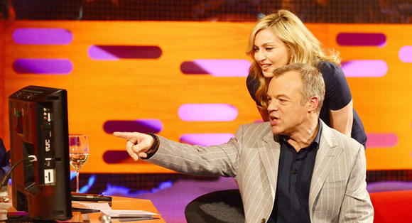 Madonna and Graham Norton
