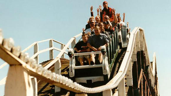 Scenic Railway roller coaster at Dreamland Margate.