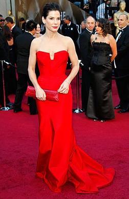 Actress Sandra Bullock.