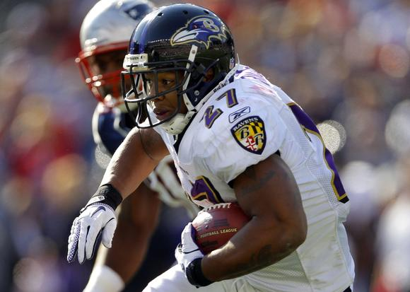 If Ray Rice and the Ravens are up at halftime, naturally, you should buy a round of shots.