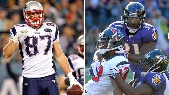 Gronkowski is a monster, and few have figured out how to stop him. He is truly a freak of nature and hard to bring down. He has stellar skills as a receiver, the ability to block like a true offensive lineman and can dominate a game. The Ravens will try to cover him in a number of ways, but Reed and Pollard will be involved most of the time. Pollard has more size than Reed, but Reed has outstanding coverage skills. If Pollard and Gronkowski collide, it might be an earth-shattering event. Edge: Patriots