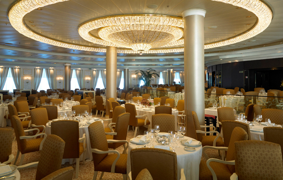 Pictures: New and soon-to-arrive cruise ships - Grand Dining Room