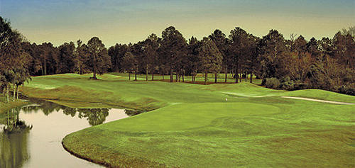 "Bent Creek's meandering terrain takes golfers through a certified Audubon Cooperative Sanctuary, towering pines, and alongside creeks.<br> <br> <b><a href=""/features/travel/orl-florida-golf-guide-bent-creek,0,571867.story"">Read the course profile and see more photos</a></b>"