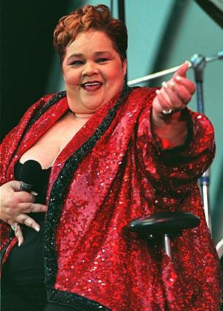 "Etta James performs at the House of Blues in 1999. She coaxed esteemed R&B producer <a class=""taxInlineTagLink"" id=""PECLB004340"" title=""Jerry Wexler"" href=""/topic/entertainment/music/jerry-wexler-PECLB004340.topic"">Jerry Wexler</a>, who had been pivotal in the careers of <a class=""taxInlineTagLink"" id=""PECLB001793"" title=""Aretha Franklin"" href=""/topic/entertainment/music/aretha-franklin-PECLB001793.topic"">Aretha Franklin</a>, Ruth Brown, <a class=""taxInlineTagLink"" id=""PECLB003496"" title=""Otis Redding"" href=""/topic/entertainment/music/otis-redding-PECLB003496.topic"">Otis Redding</a> and numerous others, out of retirement to oversee her 1993 album ""The Right Time."" At the time, Wexler said, ""I've never done anything better, and I've done a lot of records."""