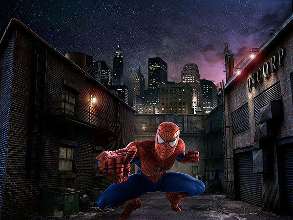 Spider-Man's story will remain as it has since the ride opened with IOA in 1999, but riders will spy more details in the new high-definition version -- plus extras such as people running down streets in the Doc Ock scene and a cameo by a (computer-generated) Stan Lee, co-creator of the Spider-Man character.