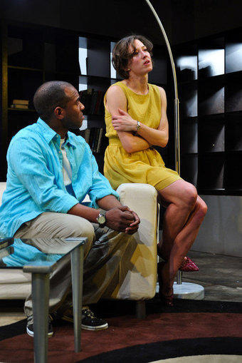 """The Girl in the Yellow Dress"" is at Next Theatre."
