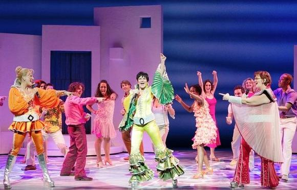 """Mamma Mia!"" is currently at the Oriental Theatre in the Loop."