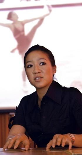 Michelle Kwan as a public diplomacy envoy.