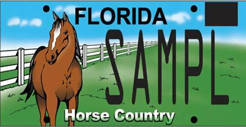 <b>Horse Country:</b>  <br> Effective Oct. 1, 2008.<br> <br> <li> Total plates issued in 2012:  4,042 <li> Organizations receiving proceeds: PCMI Properties, Inc.