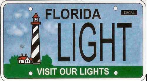 <b>Visit Our Lights:</b>  <br> Effective Oct. 1, 2008<br> <br> <li> Total plates issued in 2012: 2,328 <li> Organizations receiving proceeds from special fee:The Florida Lighthouse Association.