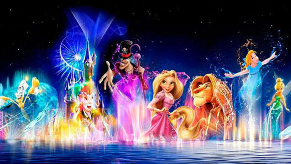Disney Dreams water spectacular at Disneyland Paris