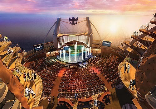 Pictures: The most unique cruise ship features - Pictures of the Royal Caribbean Oasis of the Seas cruise ship