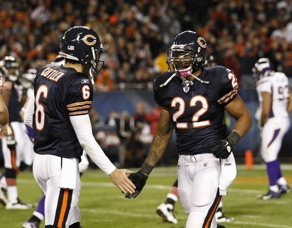 Jay Cutler and Matt Forte