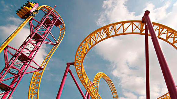 The Gerstlauer Eurofighter steel roller coaster coming to Galveston Island Historic Pleasure Pier in Texas.