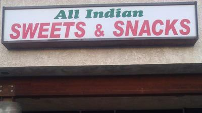 All Indian Sweets & Snacks