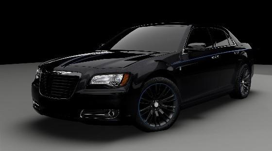The Johnny Cash of customs, the 300 is all black inside and out, with a Hemi V-8 that achieves 363 hp with a five-speed automatic with paddle shifters. This 300 also is fitted with a stiffer sport suspension. Only 500 will be built and will go for around $49,700.