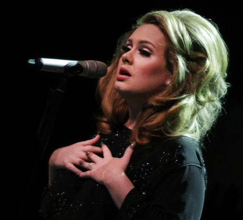 """Adele won the album of the year Grammy for """"21."""""""
