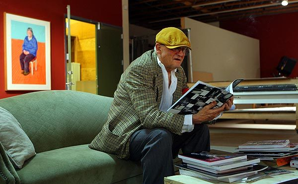 David Hockney,  an artist and his works - David Hockney