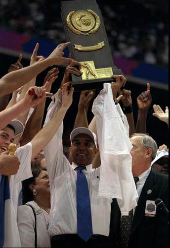 The Kentucky Wildcats have seven NCAA titles from 1948, 1949, 1951, 1958, 1978, 1996, 1998, and most recently in 2012.