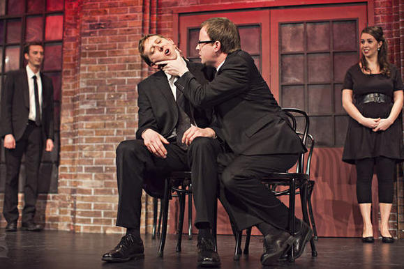 """The  Second City Improv All-Stars"" plays Mondays in a new room in Piper's Alley."