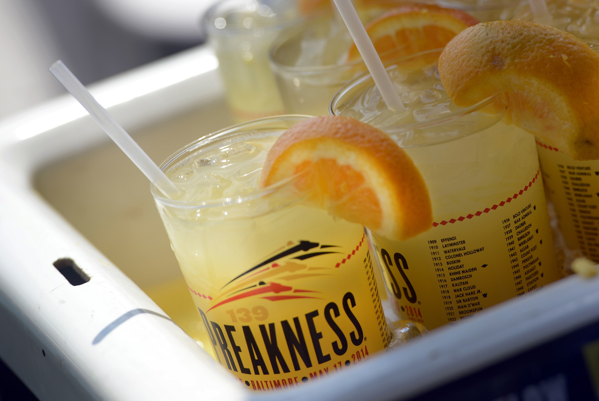 50 things Baltimore foodies must try [Pictures] - Have a Black Eyed Susan at the Preakness.
