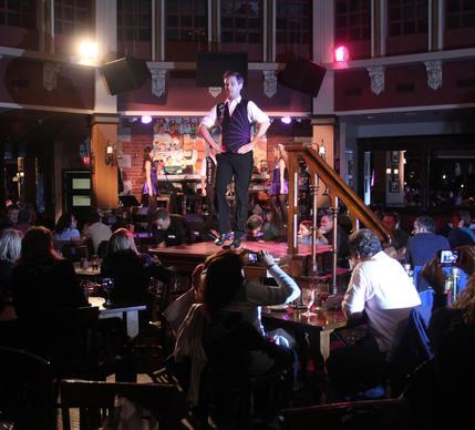 Raglan Road Dancer Ivor Rice performs during a recent Saturday night show at Raglan Road, the Irish Pub and Restaurant in Downtown Disney, in Lake Buena Vista, February 11, 2012.