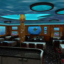 Animator's Palate restaurant on board the Disney Dream and Disney Fantasy