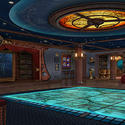 Disney Dream and Disney Fantasy interactive play floor