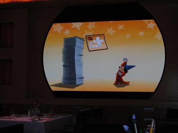 Florida Cruise Guide: Disney Fantasy pictures - Disney Fantasy -- Animation Magic at Animator