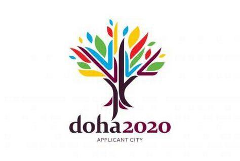 Doha's 2020 Olympic bid logo