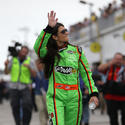 Danica patrick at  Daytona