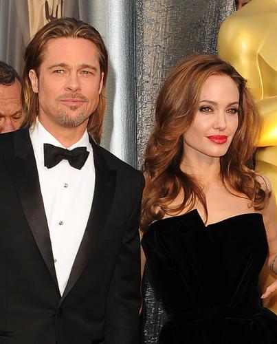 "Academy Award nominee Brad Pitt (""Moneyball"") and his Oscar-winning partner Angelina Jolie."