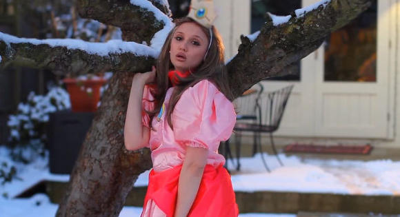 Princess Peach gets appropriately sullen in a Lana Del Rey parody.