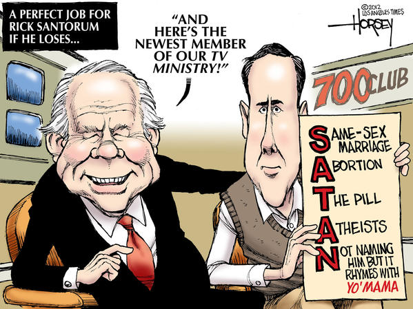 Rick Santorum is the new Pat Robertson