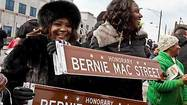 Englewood street named in Bernie Mac's honor