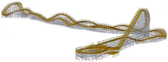 Coaster layout
