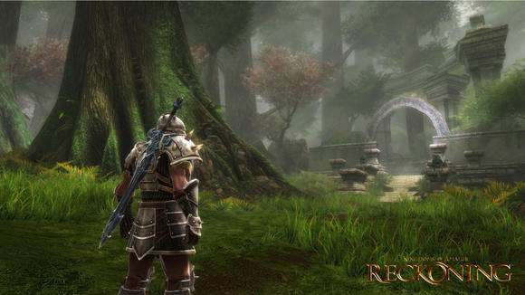 A screenshot of 'Kingdoms of Amalur: Reckoning.' Please don't compare this shot to 'Skyrim.'