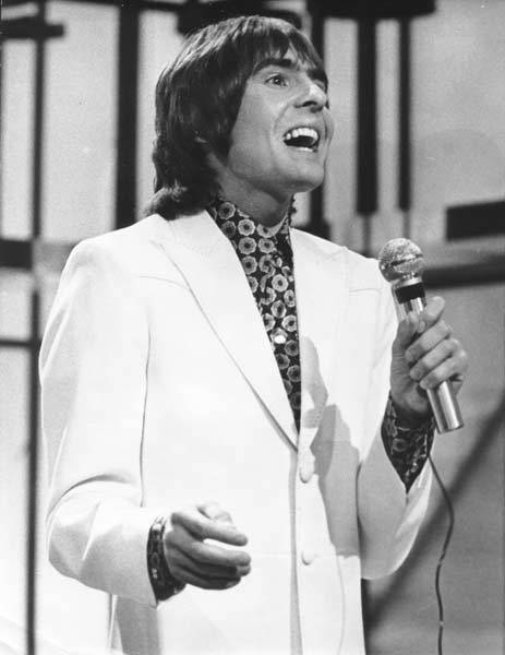 Davy Jones performing with The Monkees in 1971.